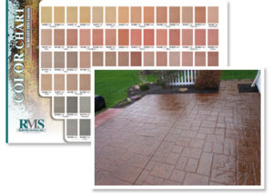 Redi Mix Color Stamped Concrete Colors