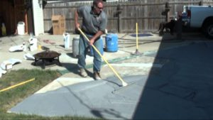 Stampable Concrete Overlay