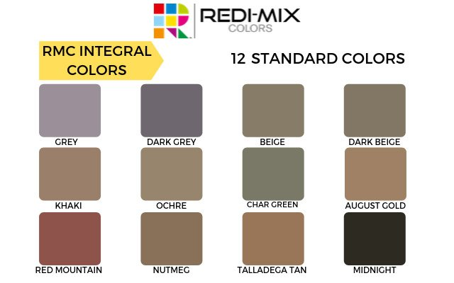 RMC-INTEGRAL-COLORS
